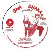 Junior Brown - Warriors / Sound Power Band - Right Fight (Jah Shaka Music) UK 12""